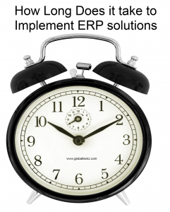 How long does it take to Implement ERP solutions