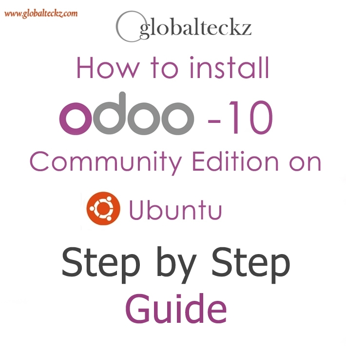 ODOO 10 INSTALLATION ON UBUNTU - QUICK GUIDE WITH STEPS