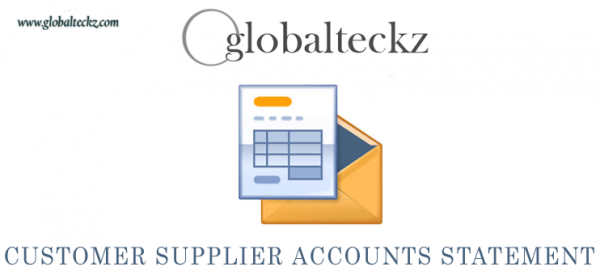 Print and email Customers & Suppliers with Due Account Statements