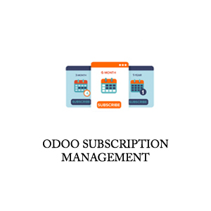 odoo subscription management app