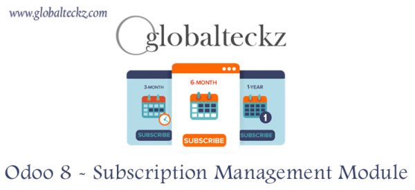 Uploaded ToOdoo 8 Subscription Management by Globalteckz