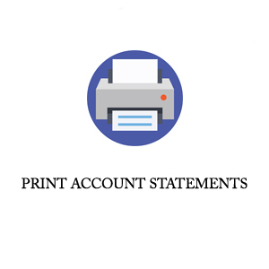 PRINT ACCOUNTS STATEMENT