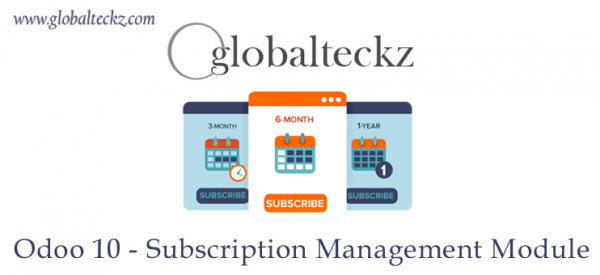 Odoo Subscription Management