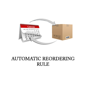 ODOO APPS, AUTOMATIC RE ORDERING RULE