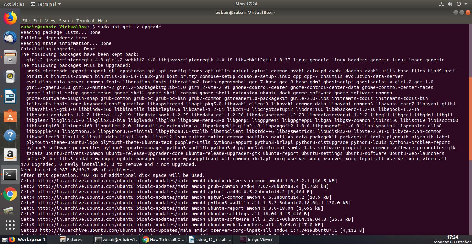 Odoo 12 Install - Installation guide on How to install Odoo 12 on Ubuntu