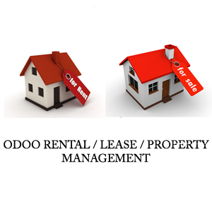 odoo property management, odoo lease management, odoo rental property management, erp for brokers, erp for agents property