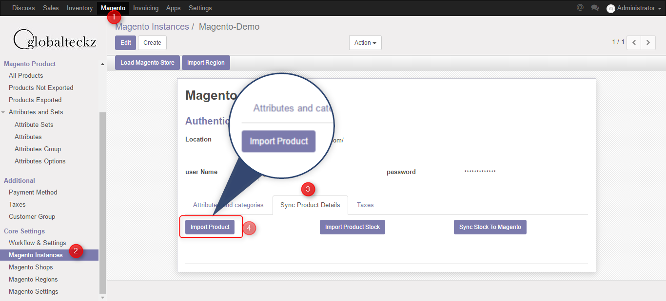 importing all your magento 2 products in odoo