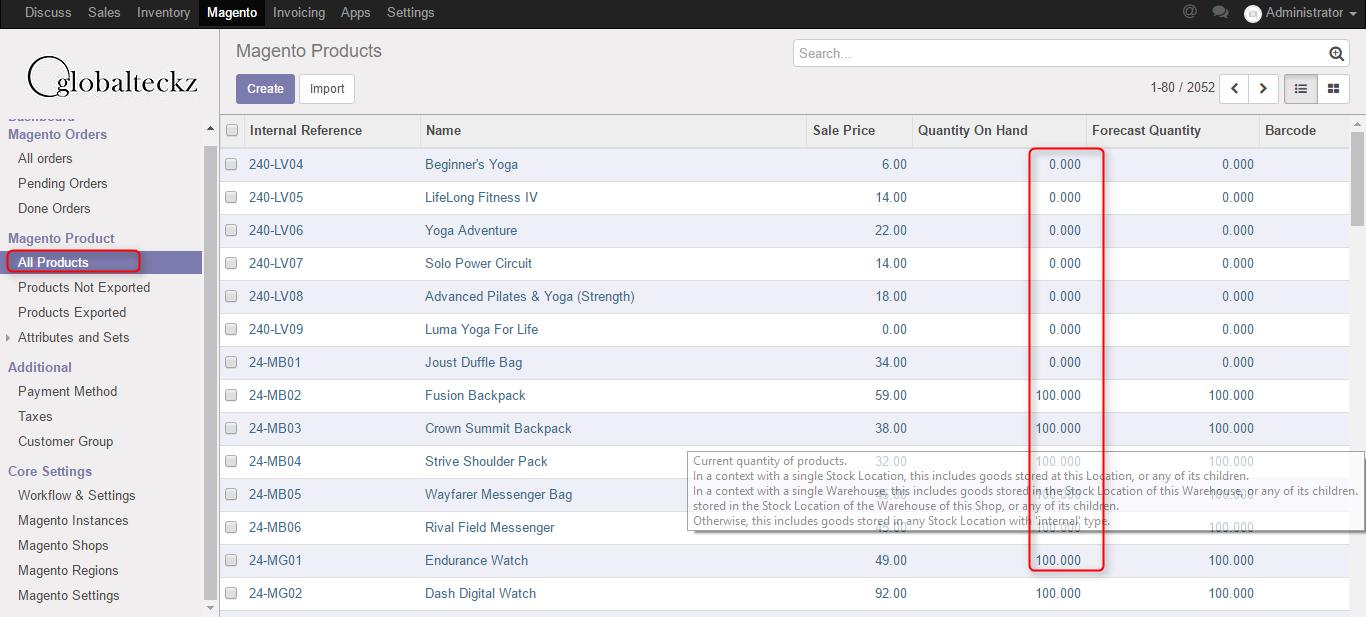 magento 2 bridge inventory import
