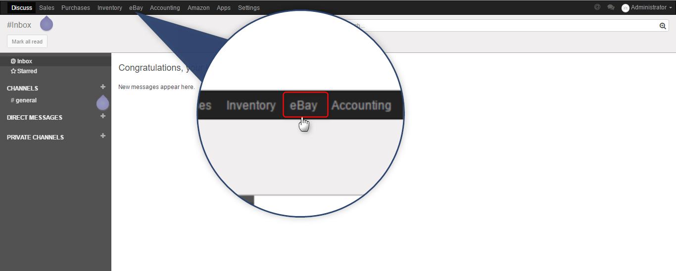 ebay connector, extension, bridge