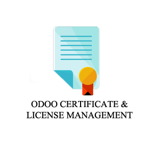 ODOO CERTIFICATE AND LICENSE ICON
