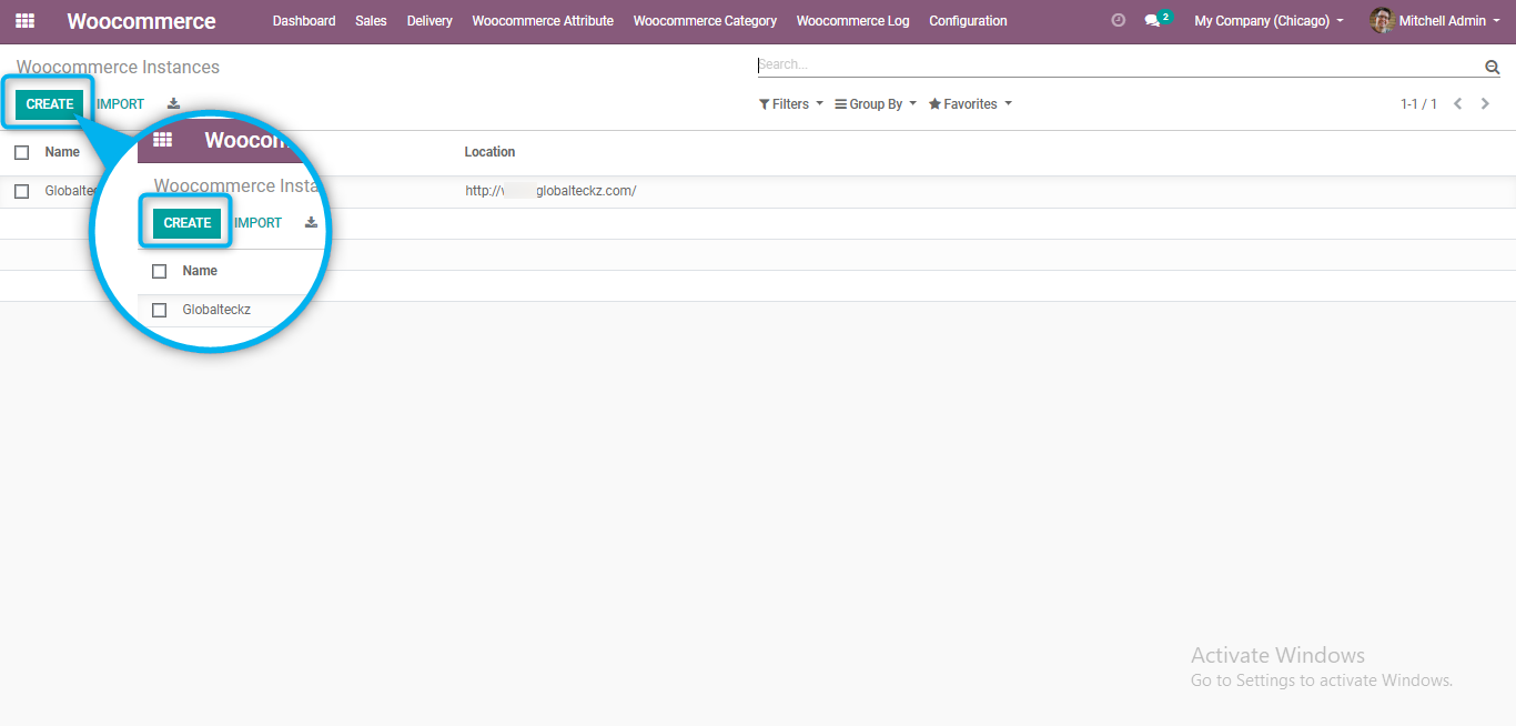 adding all the api details from woocommerce to odoo