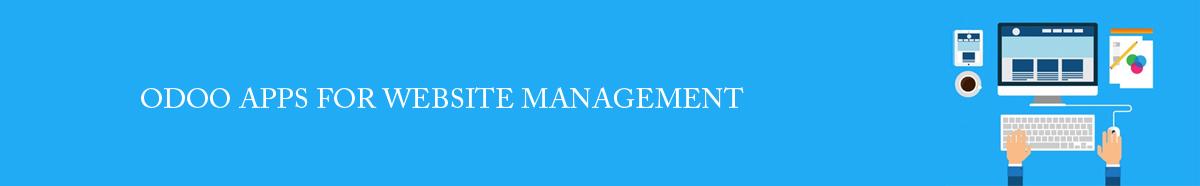 ODOO APPS FOR WEBSITE MANAGEMENT