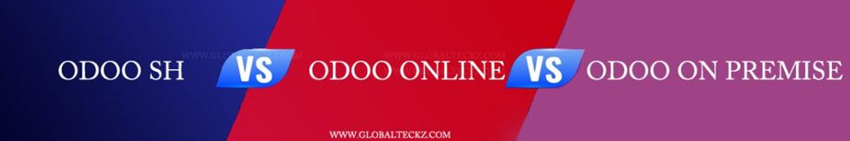 odoo online vs sh vs on premises