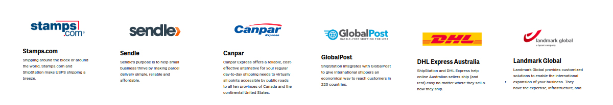 stamps, sendle, canpar, globalpost, DHL express australia, landmark global odoo connector