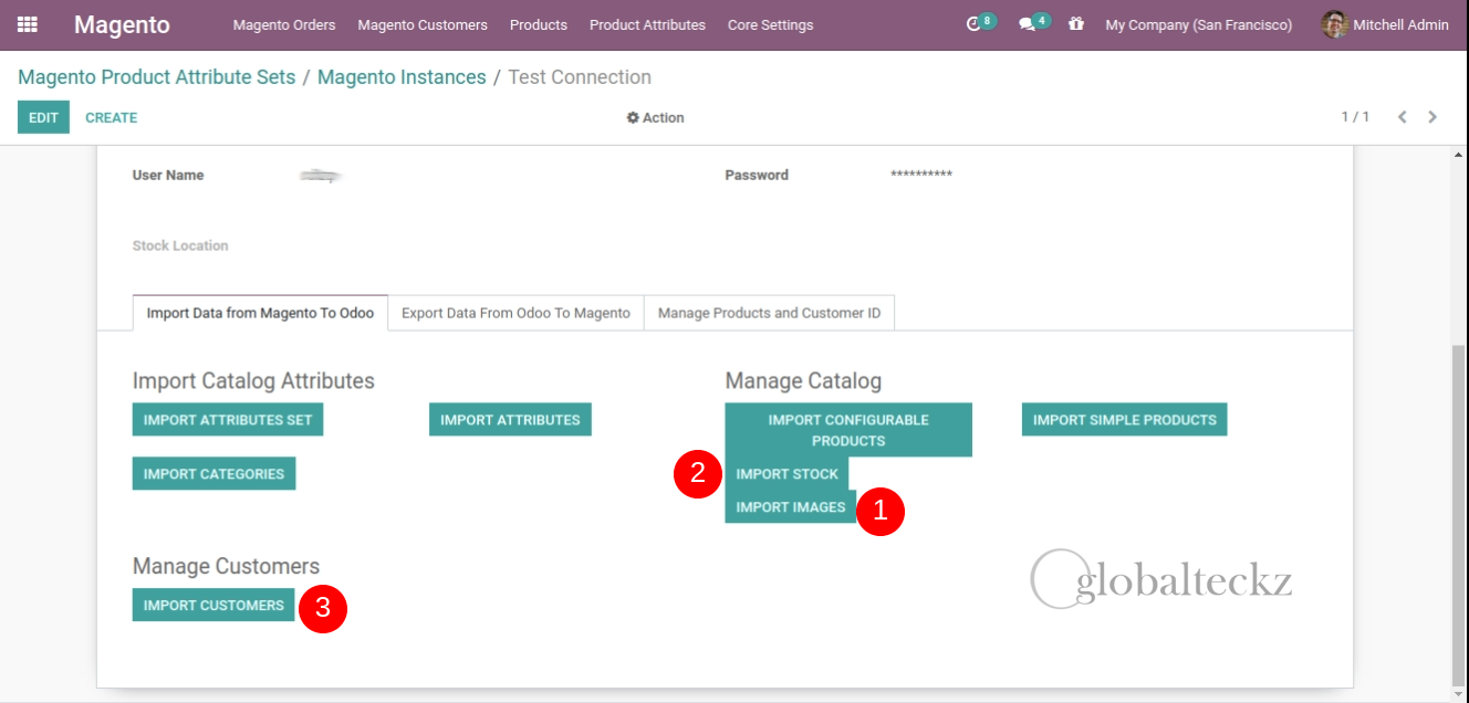 Similarly Import Stock, Images, and Customer in Odoo