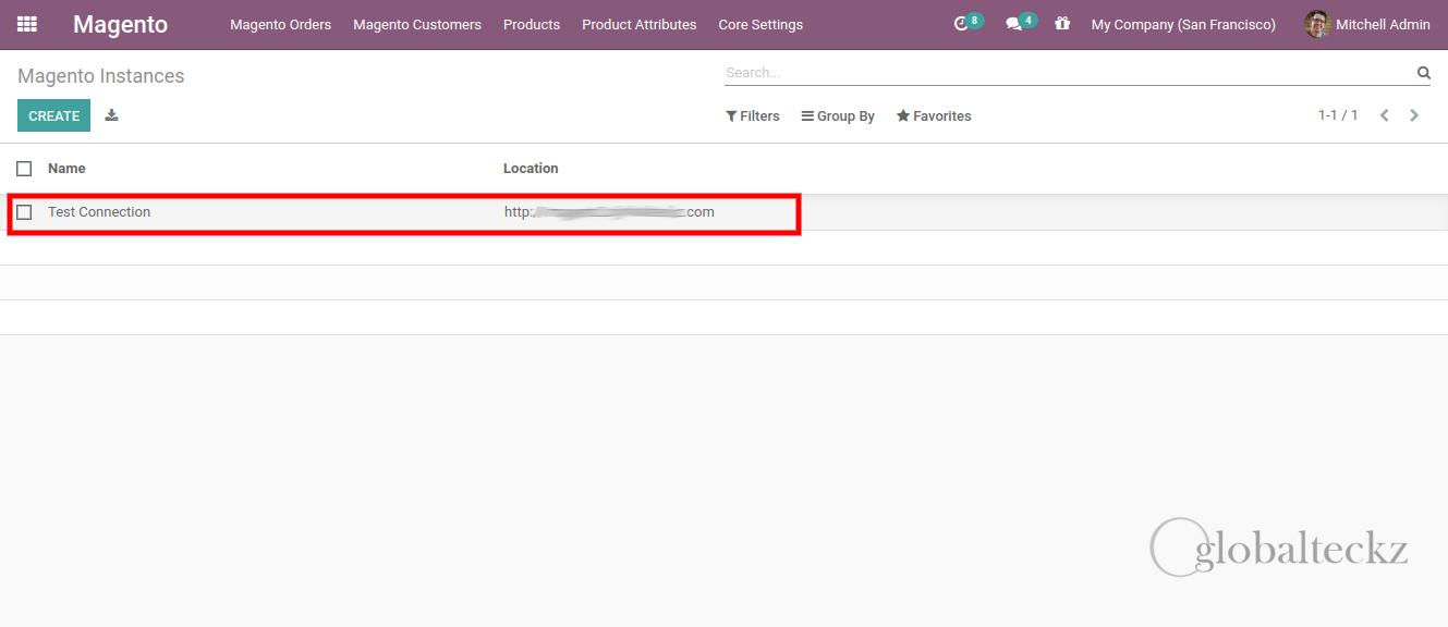 magento 2 instances location in odoo