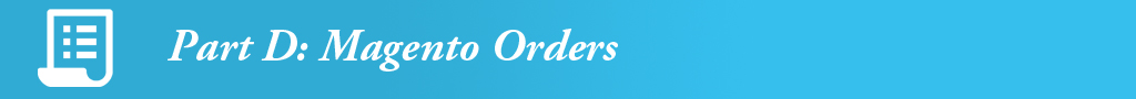 magento orders management in odoo erp software