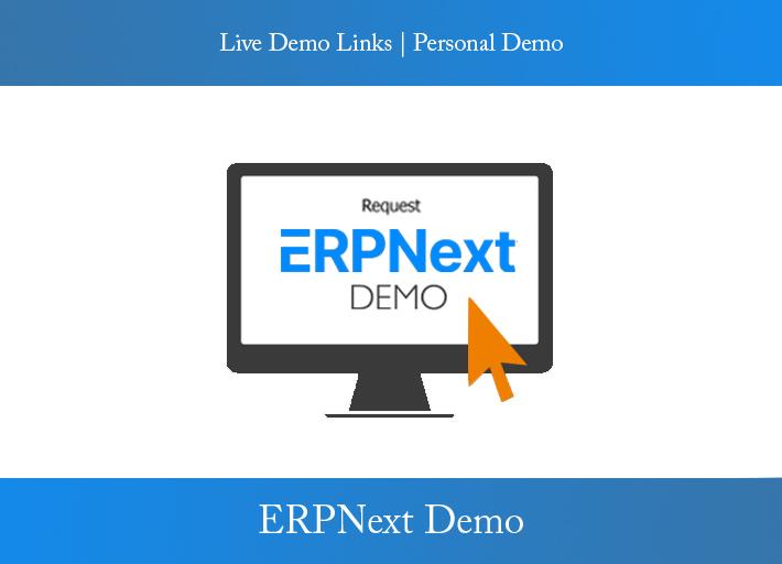 ERPnext demo