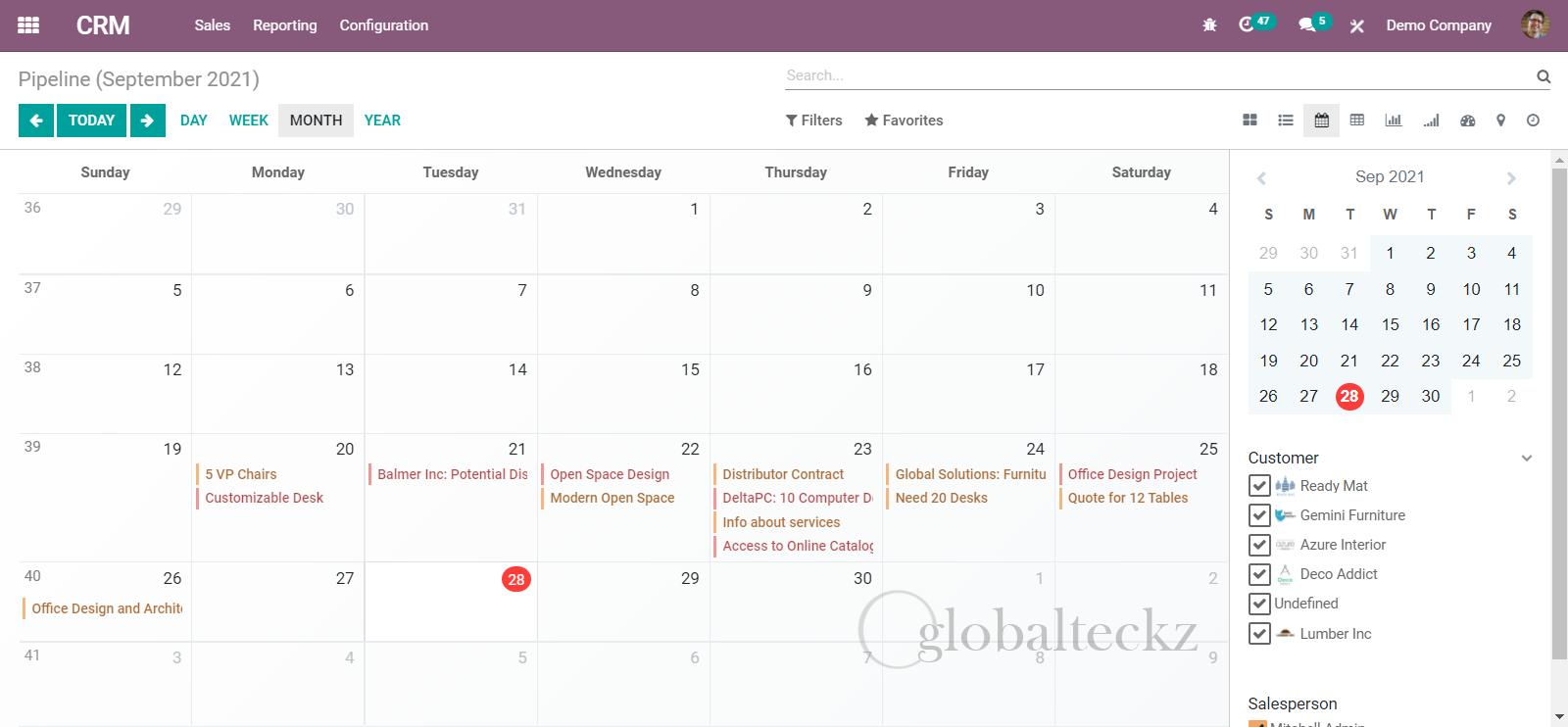 Calendar Integration to Set Meetings