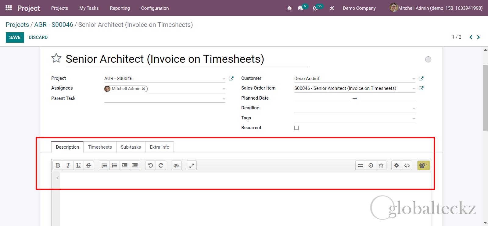 odoo 15 Launch New HTML Editor
